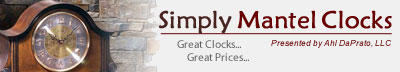 http://www.SimplyMantelClocks.com